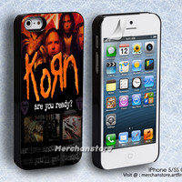 Korn Ready Singer Collage Rock Band iPhone 5 or 5S Case
