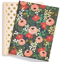Rifle Paper Co. Pocket Notebooks (Set of 2)