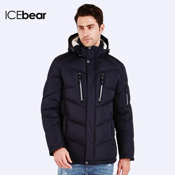 New Fashion Men's Clothing High Quality Casual Windproof Winter Warm