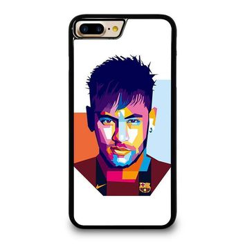 neymar jr mozaic iphone 4 4s 5 5s se 5c 6 6s 7 8 plus x case  number 1