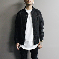 Calvin Bomber Jacket (Black)
