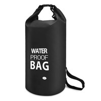 30L Outdoor Waterproof Dry Storage Bag Floating Gear Sack Shoulder Strap Included for Hiking Camping Swimming Canoeing Rafting