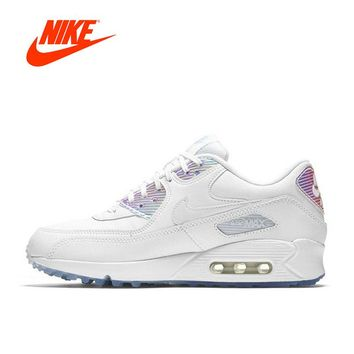 Nike AIR MAX 90 PREMIUM Nike Running Shoes Ladies Sports Sneakers