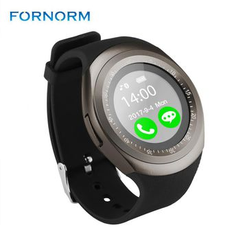 Y1 Bluetooth Smart Bracelet Watch Phone Support SIM TF Card Sedentary Reminder/Sleep Monitor/Message Remind/Anti-lost