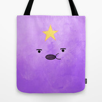Adventure Time - Lumpy Space Princess Tote Bag by hannahclairehughes