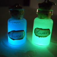 Harry Potter Lumos Spell Glow In The Dark Glass by GeekOUTlet
