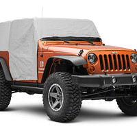 RT Off-Road Wrangler Waterproof Cab Cover - Grey CC10709 (07-18 Wrangler JK 2 Door) - Free Shipping