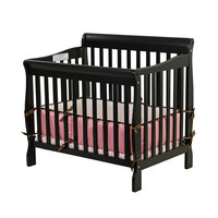 Aden - 3 in 1 Crib - Black