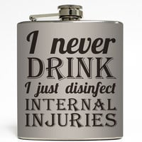 Internal Injuries - Funny Flask