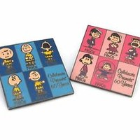 Peanuts Commemorative Charlie Brown Lucy Pins Celebrating 60 years Anniversary