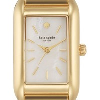 Women's kate spade new york 'paley' rectangular bracelet watch, 21mm x 33mm