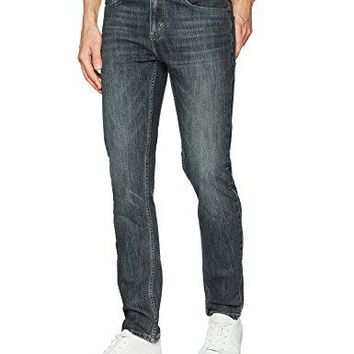 Signature by Levi Strauss & CO. Men's Skinny Fit Jeans, Dark Matter, 34W x 32L