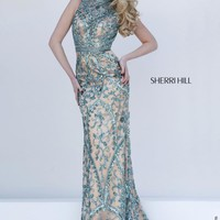 Sherri Hill Fitted Long Dress 1976