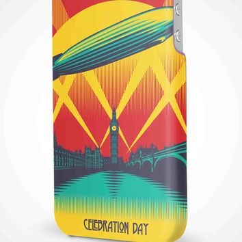 Led Zeppelin Poster iPhone 4/4S, 5/5S, 5C Full Wrap 3D Case