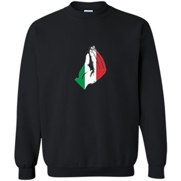 How Italian's Do Things Funny Novelty Italy Meme  Printed Crewneck Pullover Sweatshirt