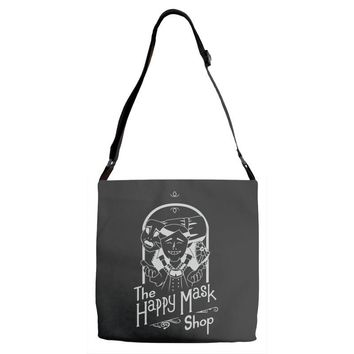 happy mask store Adjustable Strap Totes