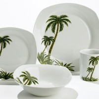Florida Marketplace 16-pc. Palm Tree Dinnerware No Size