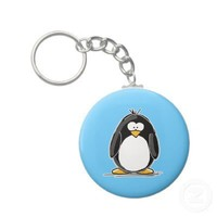 Penguin keychain from Zazzle.com