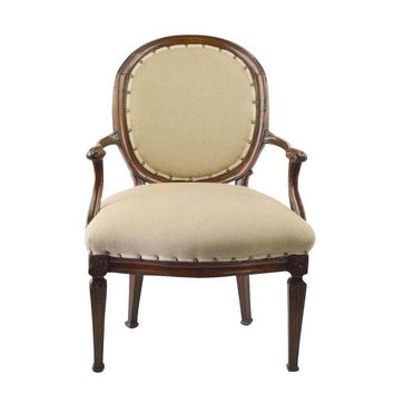Pre-owned 1780s French Chair Reupholstered