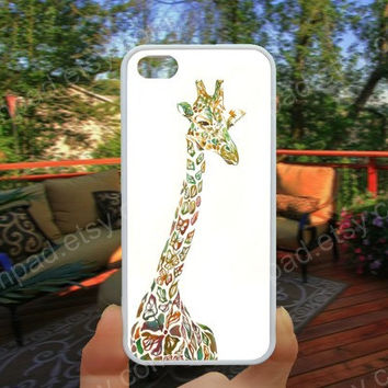 Giraffe colorful  iphone 4/4s case iphone 5/5s/5c case samsung galaxy s3/s4 case galaxy S5 case Waterproof gift case 513