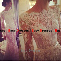 Embroidery dress long sleeves dress long dress Prom dress Bridesmaid dress Fashion dress Party Evening Dresses 2014