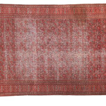 4.5x7 Antique Doroksh Rug