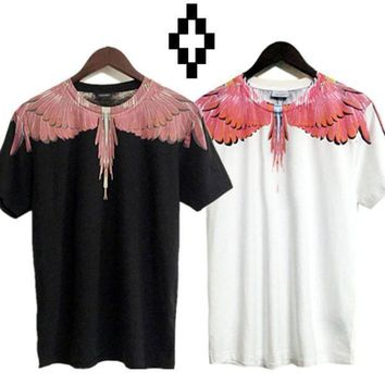 Marcelo Burlon T Shirts County Of Milan Wings Feathers