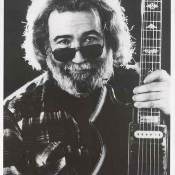 Jerry Garcia Portrait Grateful Dead Poster 24x36