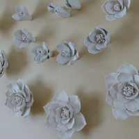 Spiral Flower Wall Backdrop - 28 inch diameter large
