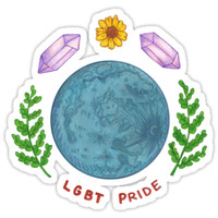 'lgbt pride' Sticker by Theo Cook