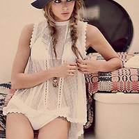 Free People  Dear Brigitte Top at Free People Clothing Boutique