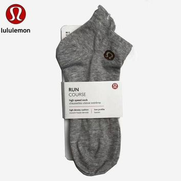 DCCKNQ2 Lululemon Women Cotton Socks