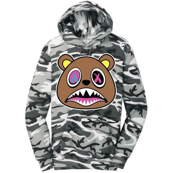 Crazy Baws Winter Stealth Camo Hoodie