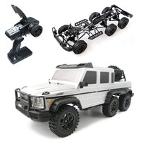 HG P601 1/10 2.4G 6WD Rc Car Rock Crawler RTR 20km/h Metal Chassis RTR Toy