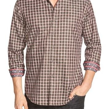 Men's Robert Graham 'Waterford' Classic Fit Check Sport Shirt,