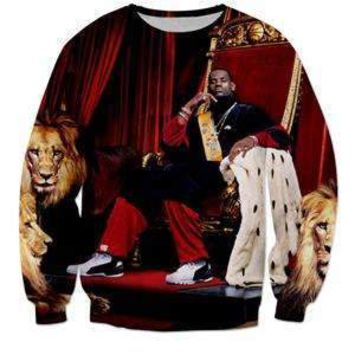 Lebron James 3D Sweat Shirt