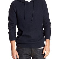 Banana Republic Mens Factory Textured Pullover Hoodie