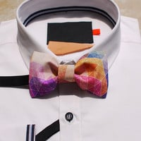 Merlin Formal Fashion Adjustable Men Wedding Bowties