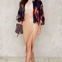 Nasty Gal Collection Kinda Outta Luck Midi Skirt