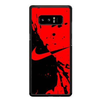 Nike Red Samsung Galaxy Note 8 Case