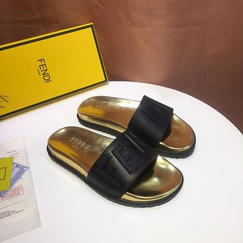 FENDI Man Leisure slippers