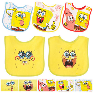 2016 New Cotton Baby Bibs, 5 pcs/lot, Infant Saliva Towels, Cartoon Baby Wear With Different Model 14-088