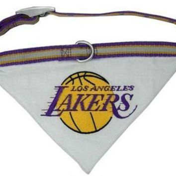 ESBONI Los Angeles Lakers Dog Collar Bandana