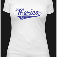 Murica or Merica tshirt, southern funny 4th fourth of July patriotic shirt