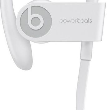 Beats Powerbeats3 Bluetooth Wireless In-Ear Earphones with Mic - White