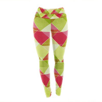"Catherine McDonald ""Palm Beach"" Yoga Leggings"