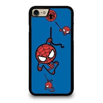 spiderman kawaii marvel avengers case for iphone ipod samsung galaxy  number 1