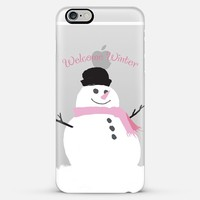 Welcome Winter iPhone 6 Plus case by Noonday Design | Casetify
