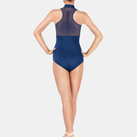 Free Shipping - Adult Zip Front Power Mesh Tank Leotard by BODY WRAPPERS
