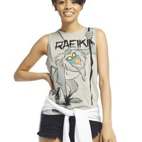 Rafiki™ Laser-Cut Back Tank | Wet Seal